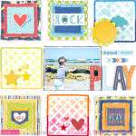 Baby on the Beach Grid Block Layout