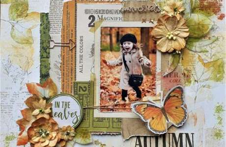 Autumn Leaves Layout