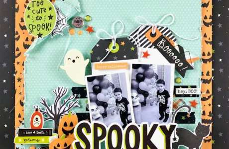 Too Cute to Spook Layout