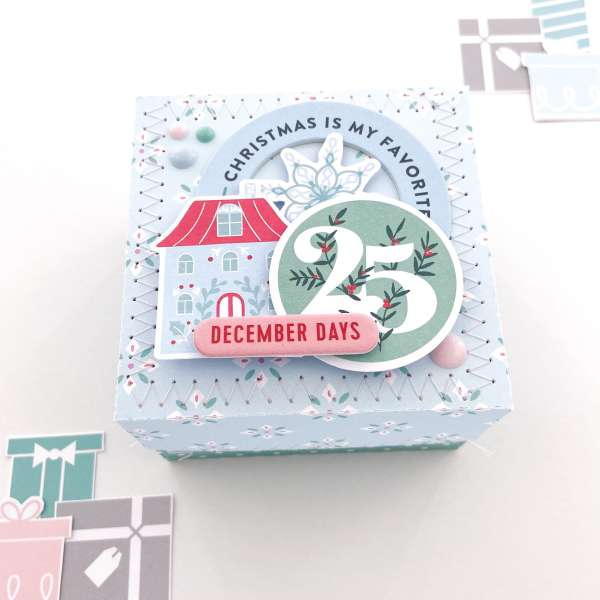 December Mini Album in a Box