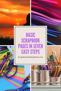 Basic Scrapbook Pages