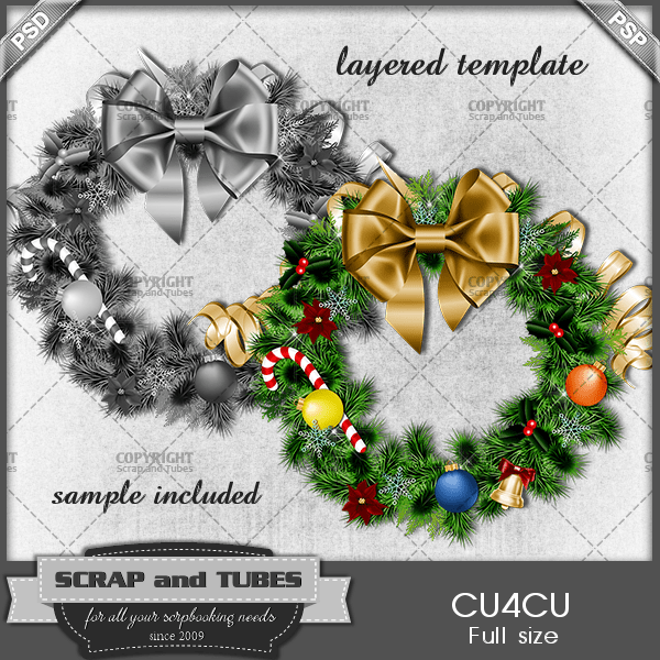 Christmas-Wreath-Template_PV_S-and-T-500x500