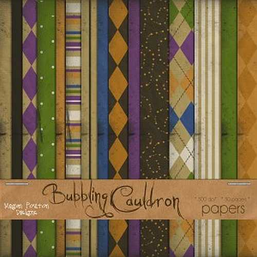 Digital-Scrapbooking-Freebie-Bubbling-Cauldron-Papers
