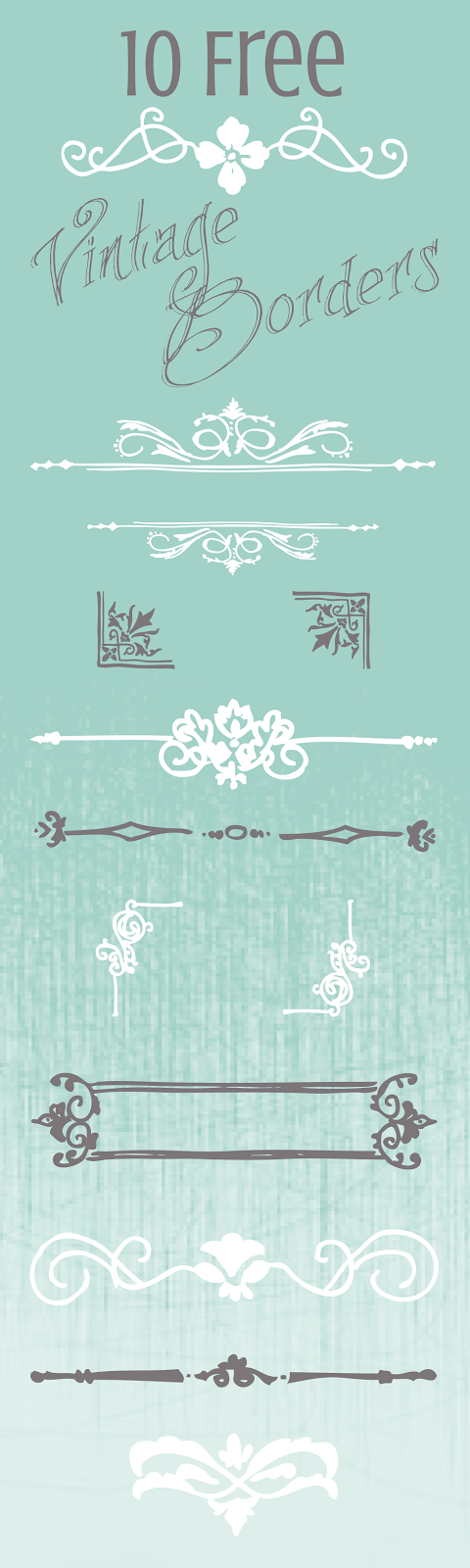 Hand-drawn Borders & Banners-01