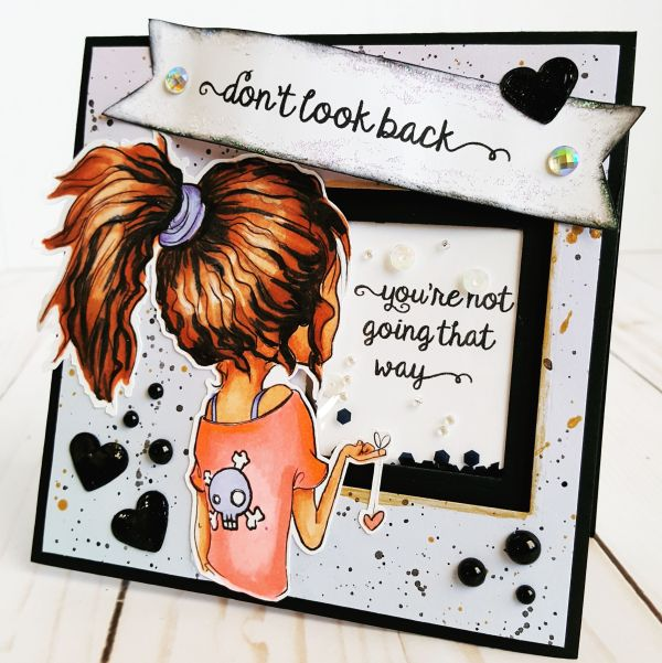 Don't Look Back - Oddball DT Project June 1 2017
