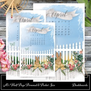Spring Fest Printable Dashboard and Printable Dashboard Inserts