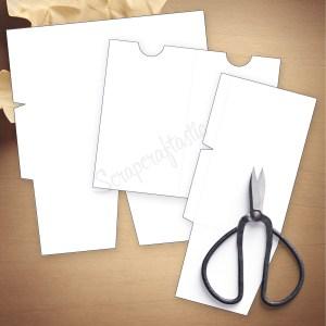 Folder Insert Template for Personal Size Traveler's Notebook