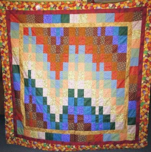 Easy Bargello Quilt