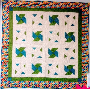 Ghosts and Most Mystery Quilt