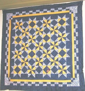 Notre Dame Mystery Quilt