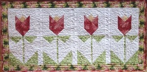 Tulip Time Table Runner