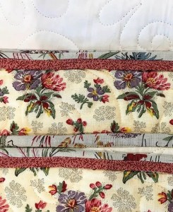 Quilt Piped Binding Edges
