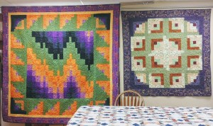 Picture of three quilts