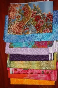 Super Sunday Quilt Mystery Fabric Choices