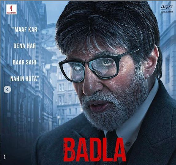Badla Movie: Trailer In Trending, Amitabh Bachchan & Taapsee In Lead Roles