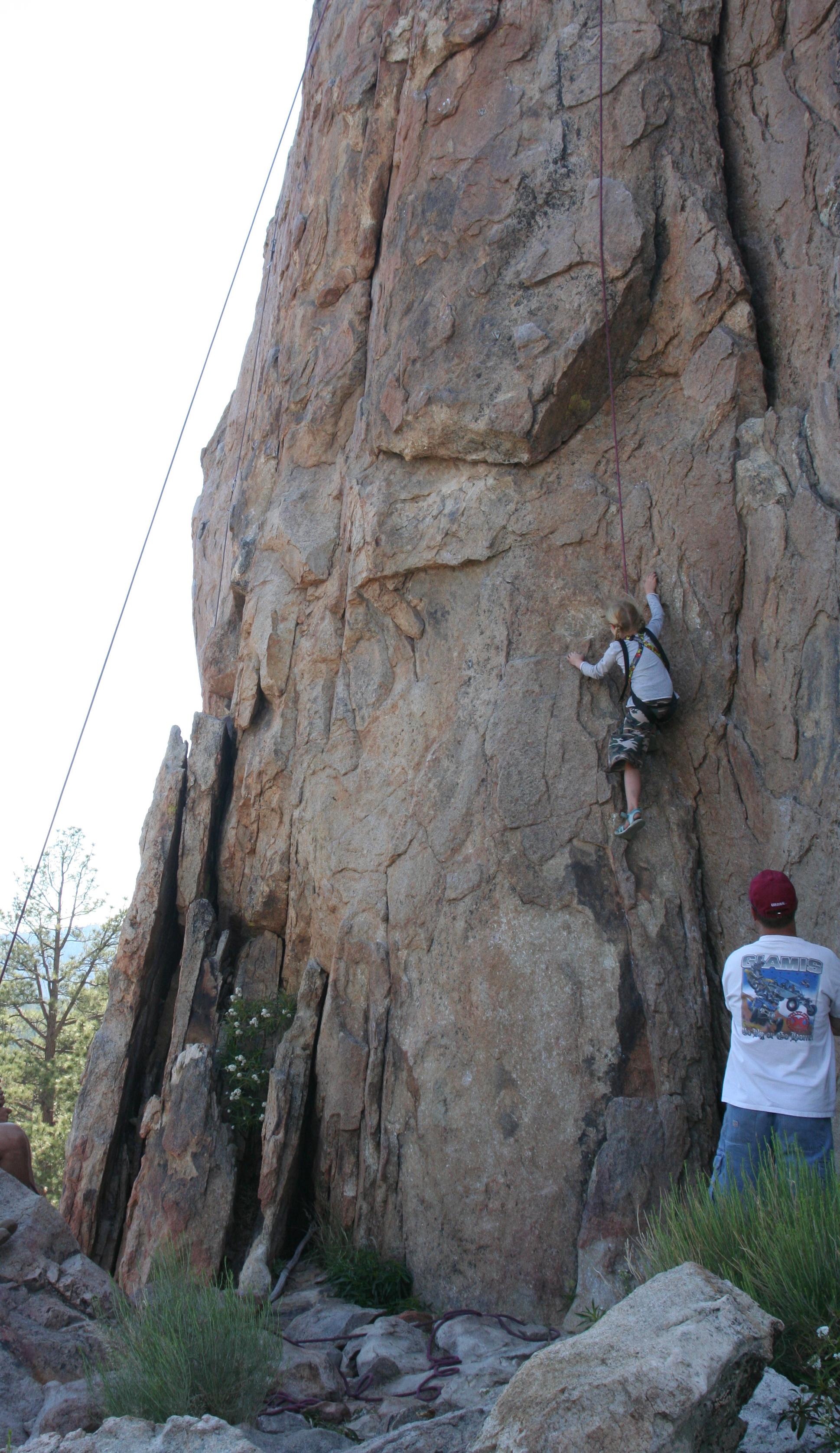 Savannah Climbing too