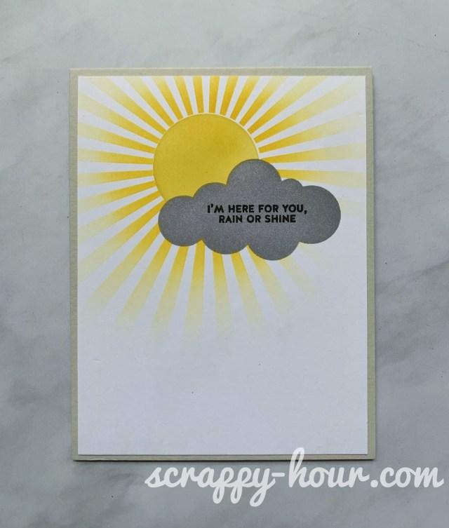 Rain or Shine Card 2