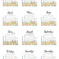 2017 Tear-off calendars