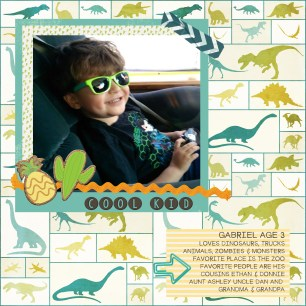 Gabe 3 coolKid