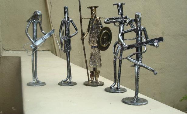 Scrap Metal Art Scrap Sculptures