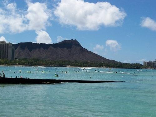 Diamond Head in Hawaii (Oahu)