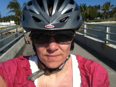 ScrappinMichele Biking in Key West
