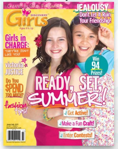 Discovery Girls Magazine June Junly 2011