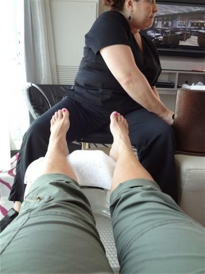 Sony Moms foot massage & reflexology