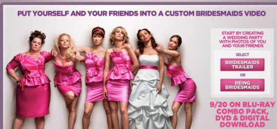 being bridesmaids movie