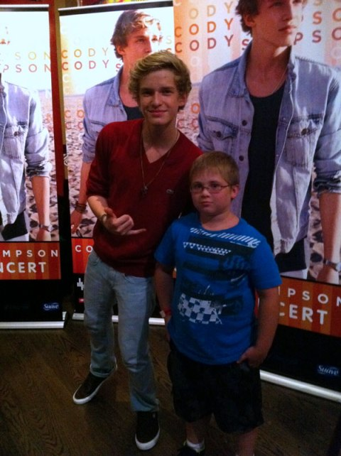 Cody Simpson Wal-Mart Soundcheck