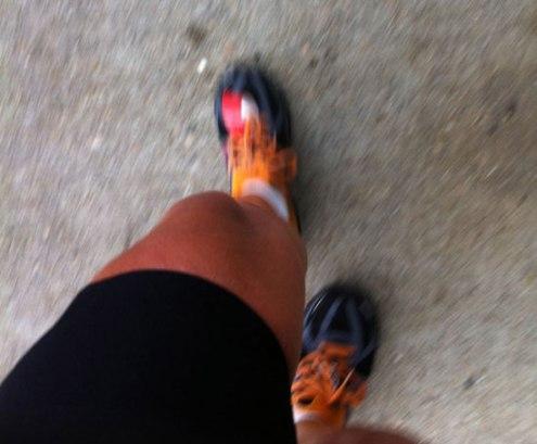 still running