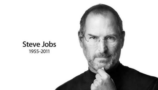 Steve Jobs died Apple website