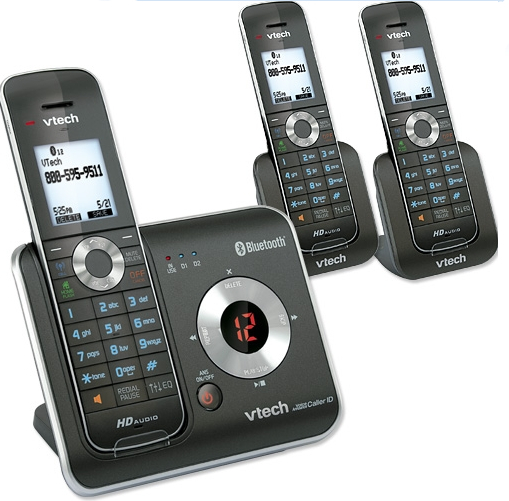 VTech DS6421-3 Connect to Cell cordless phone system