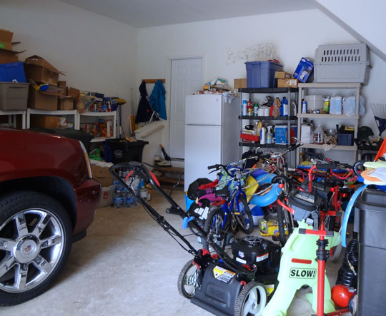 Before garage makeover