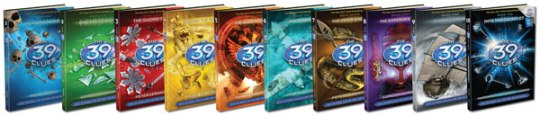 The 39 Clues book series