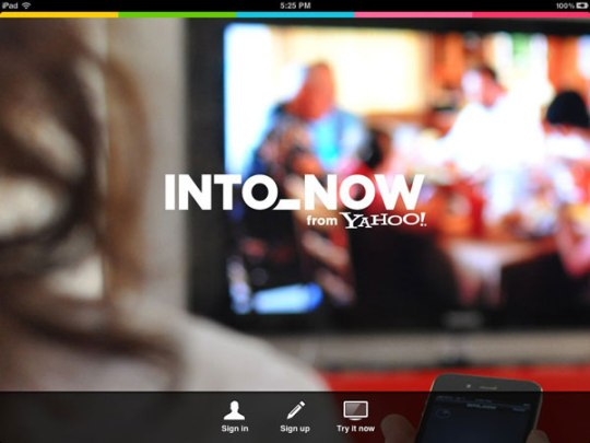 Into_Now TV Android iPad iPhone