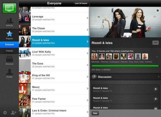 Into_Now app on iPad