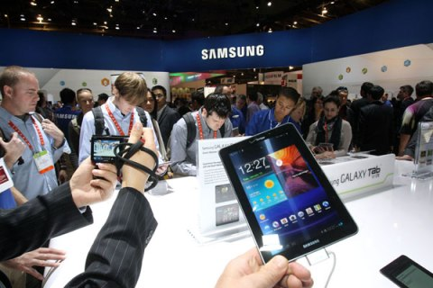 Samsung booth CES 2012