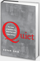 Quiet book by susan cain