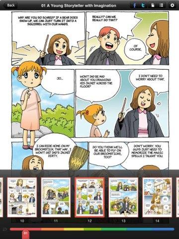 biography comics