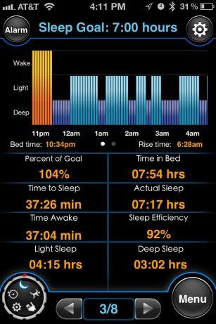 motion x sleep tracking
