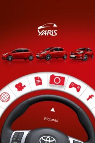 Toyota yaris app iphone