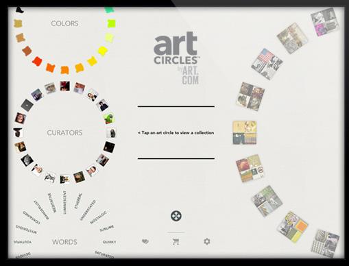 artcircles by art.com ipad app
