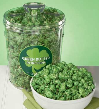 The Popcorn Factory green butter popcorn