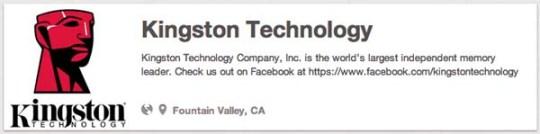 Kingston Technology companies on pinterest