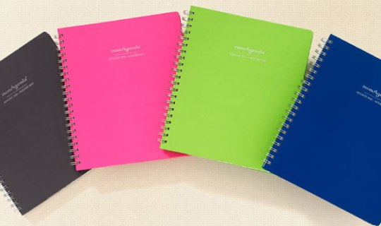momagenda home office planner colors