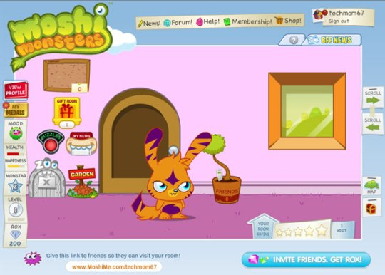 Moshi Monsters Online