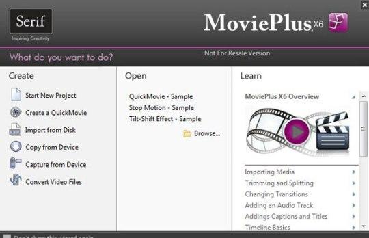 Start Serif MoviePlus x6