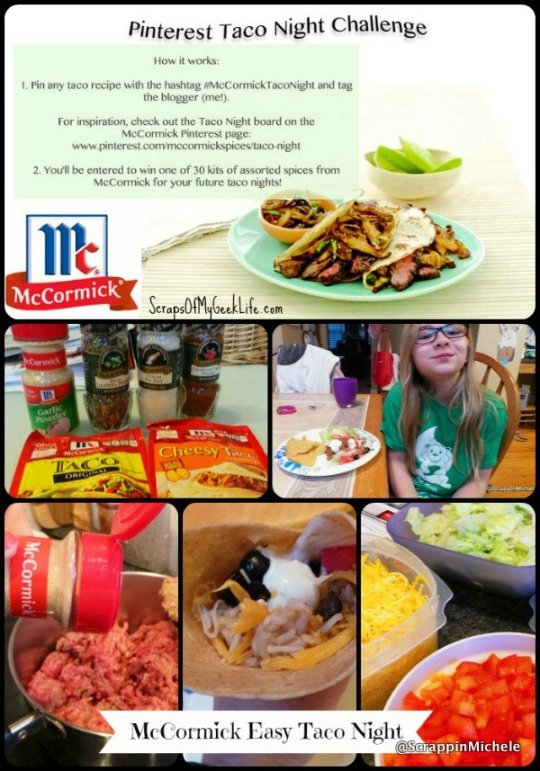 McCormick Easy Taco Night Recipe