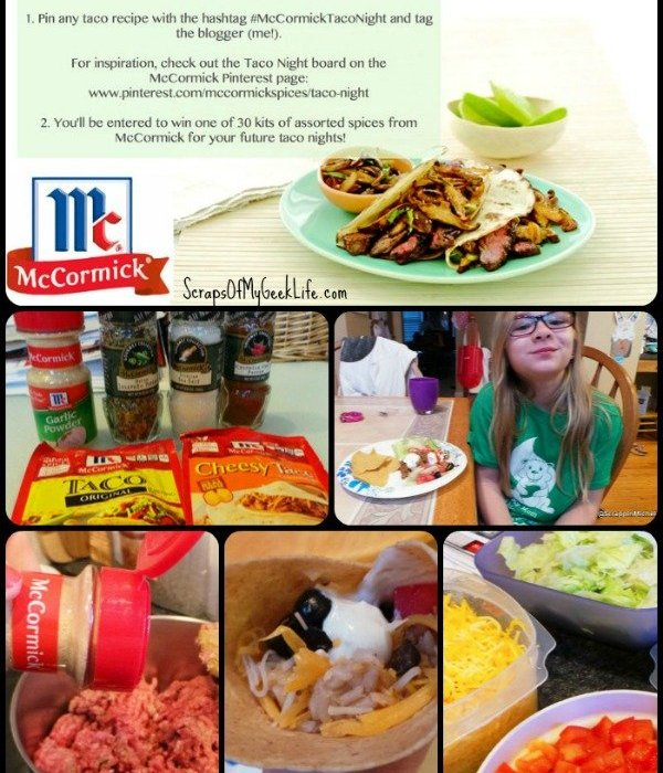 McCormick Easy Taco Night Recipe
